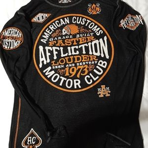 Affliction mens shirt